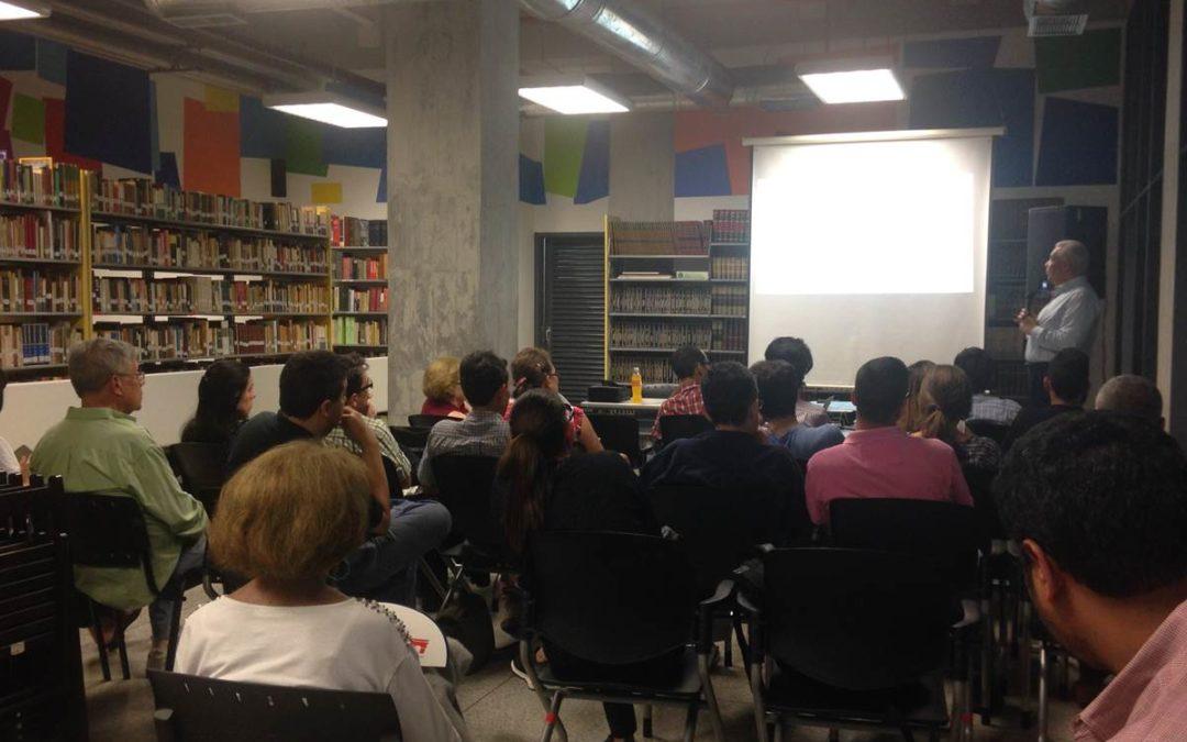 La Biblioteca Herrera Luque se convirtió en La Cueva de Clío