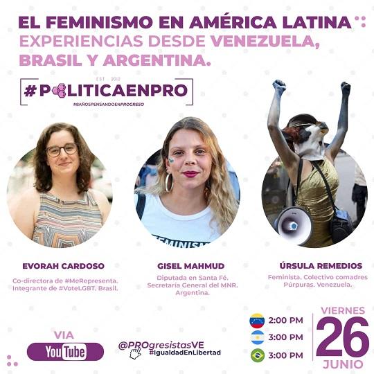 El feminismo en América Latina. #PoliticaEnPro